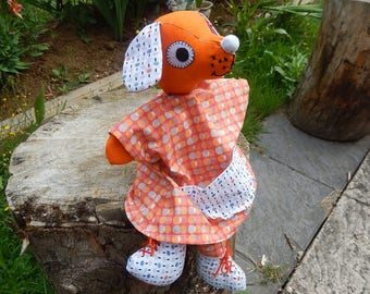 UNIQUE Orange - model puppy puppet