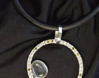Silver Pendant Quartz