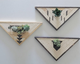 Triangle Wall Planters