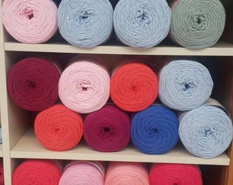 Pastel Colours Tshirt Yarn