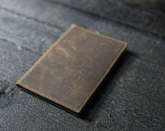 Leather Passport Wallet, Leather Passport case, leather passport protector, passport keeper