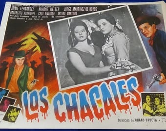 Vintage Spanish Action Movie Posters