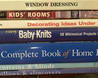 Decorating and crafting books set of 7