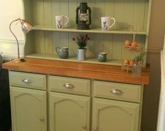 Farrow & Ball Handmade Solid Oak Dresser Bespoke Painted Shabby Chic