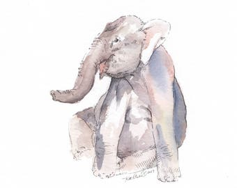 """8 x 10"""" Made to Order Watercolor 