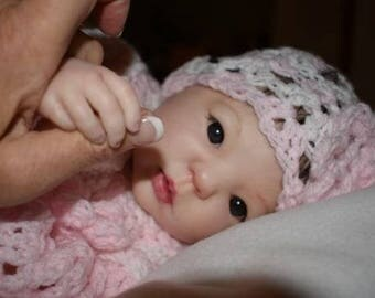 ADOPTED. Reborn Baby Custom Asian Kimi by Donna Rubert Girl Boy Baby Doll. JULY  2018. Payment Options Available.