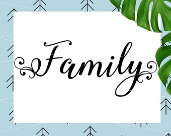 Family SVG Sayings svg Quote Svg files for Cricut Silhouette svg dxf png eps lfvs