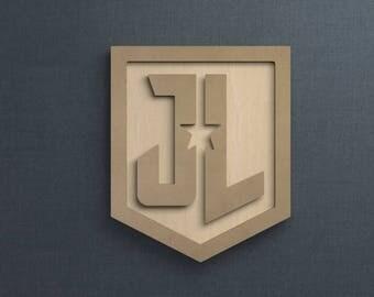 Frame Kit, Justice League, Wood Frame, Picture Frame, DIY