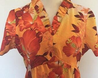 Vintage Hawaiian Dress