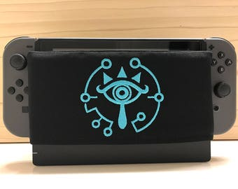 Embroidery Eye Of The Truth - Nintendo Switch Dock Cover – Switch Case – Switch Protector – Switch Dock Sock – l Dock Sleeve - Dock Sock