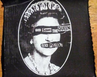 God Save The Queen Patch