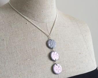 Trio Pendant Necklace