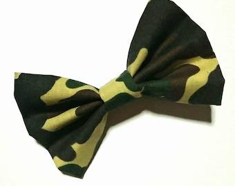 Marine/Navy Camo Fabric Flowers Headband | Etsy