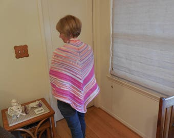 Pink Stripped Wrap Soft and snugglworthy