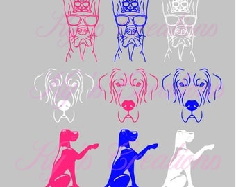 Dog Car Window Decals; Fundraiser for Marmaduke; window decal; Marmaduke decal; great dane decal; dog decal
