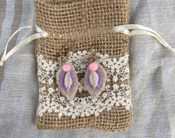 Little Lavender Earrings
