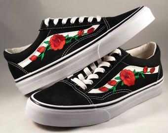 rose vans nere