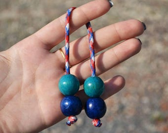 Yoyo worry beads wukong weight loss aid stress-relief stop smoking aid Spinner fidget poi relaxation rope monkey's fistb lanyard bead edc