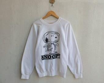 Vintage Peanuts Sweatshirt Nice Design