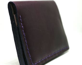 Wallet, leather wallet
