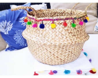Belly Basket Boho