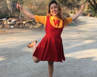 Vintage Cheerleader outfit