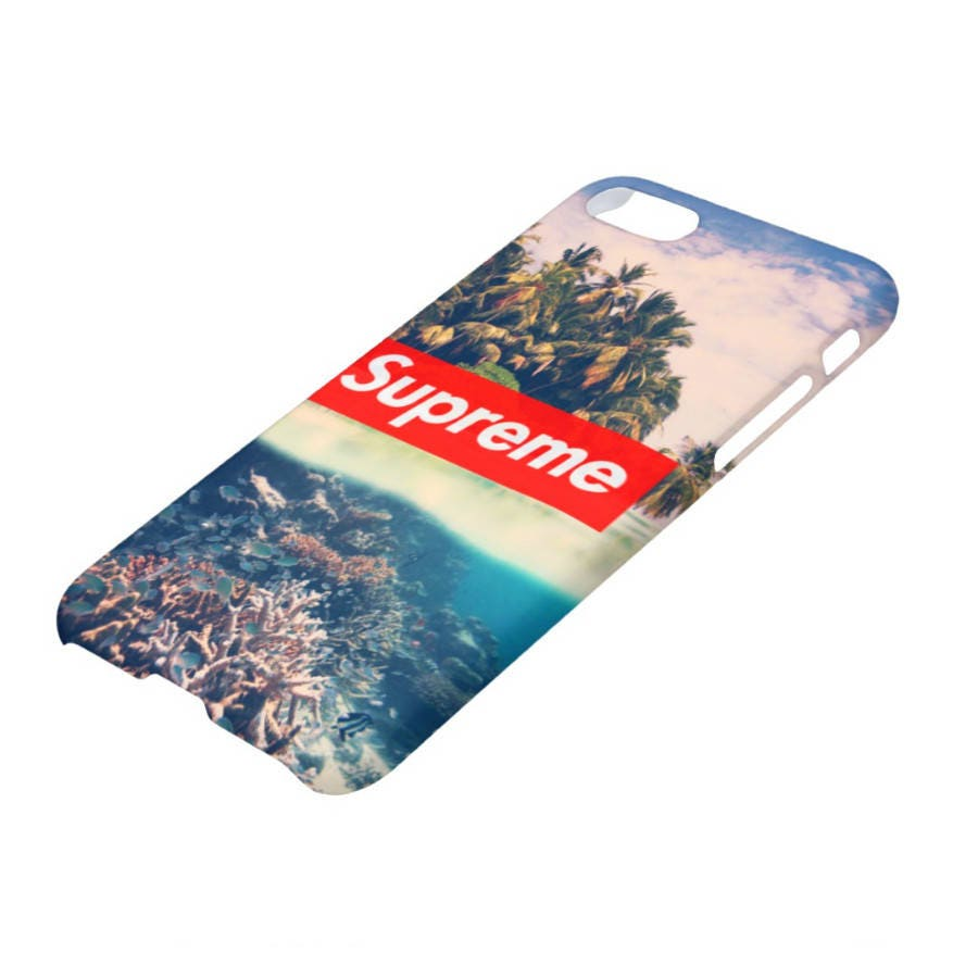 Supreme Tropical Iphone X Case 8 Plus 7