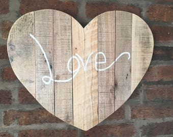 Love Heart Wall Hanging