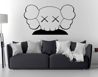 Kaws wall decal / Kaws Art / Home Decor / wall sticker / Vinyl wall decal
