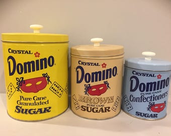 Domino Kitchen Canisters