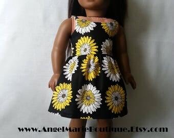 Dress for 18 inch dolls such as American Girl Dolls & My Life As Dolls.