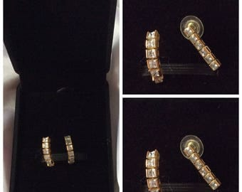 Vintage France! Chic and elegant earrings with beads for women