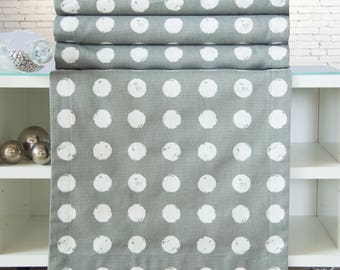 Grey table runners, 176 x 40 cm