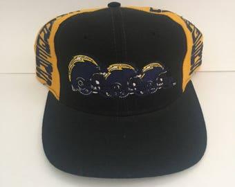 Vintage AJD 90s San Diego Chargers Snapback Hat