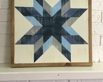 Beautiful barn quilt sign