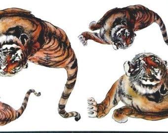 Animal temporary tattoos M100 19 X 9 CM