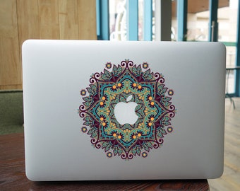 The flowers decal laptop sticker for macbook pro skin macbook sticker macbook air sticker macbook front decal