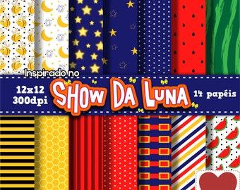 Digital Paper show Luna's digital show Kit