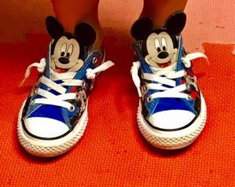 Boys Mickey Mouse converse