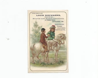 Trade Card Souders Extracts