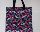 Cotton linen shopping tote - Jocelyn Proust fabric