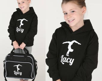 Personalised Gymnastics Satchel Bag