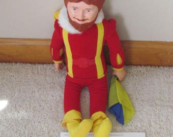 1980 The Magical Burger King Doll Figure