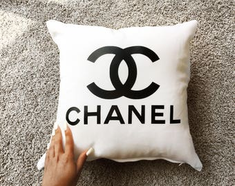Chanel Inspired Pillow Cover