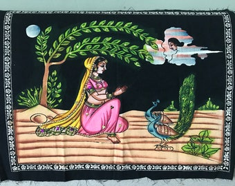 Indian Material Painting