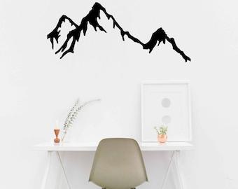 Mountain Range Decal