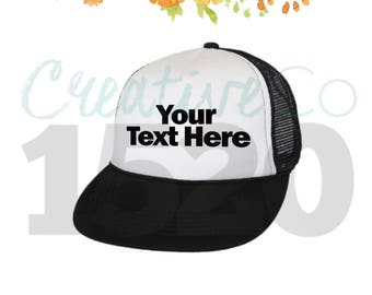 Design Your Own Trucker Hat | Trucker Hat | Custom Trucker Hat | Custom Hat | Hat | Cap