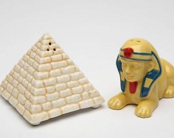 Pyramid & Sphinx Salt and Pepper Shaker Set (20723)