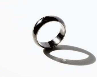 Blackened Silver Empress Ring