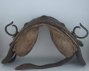 Saddle for horses - Leather saddle for horse and donkey